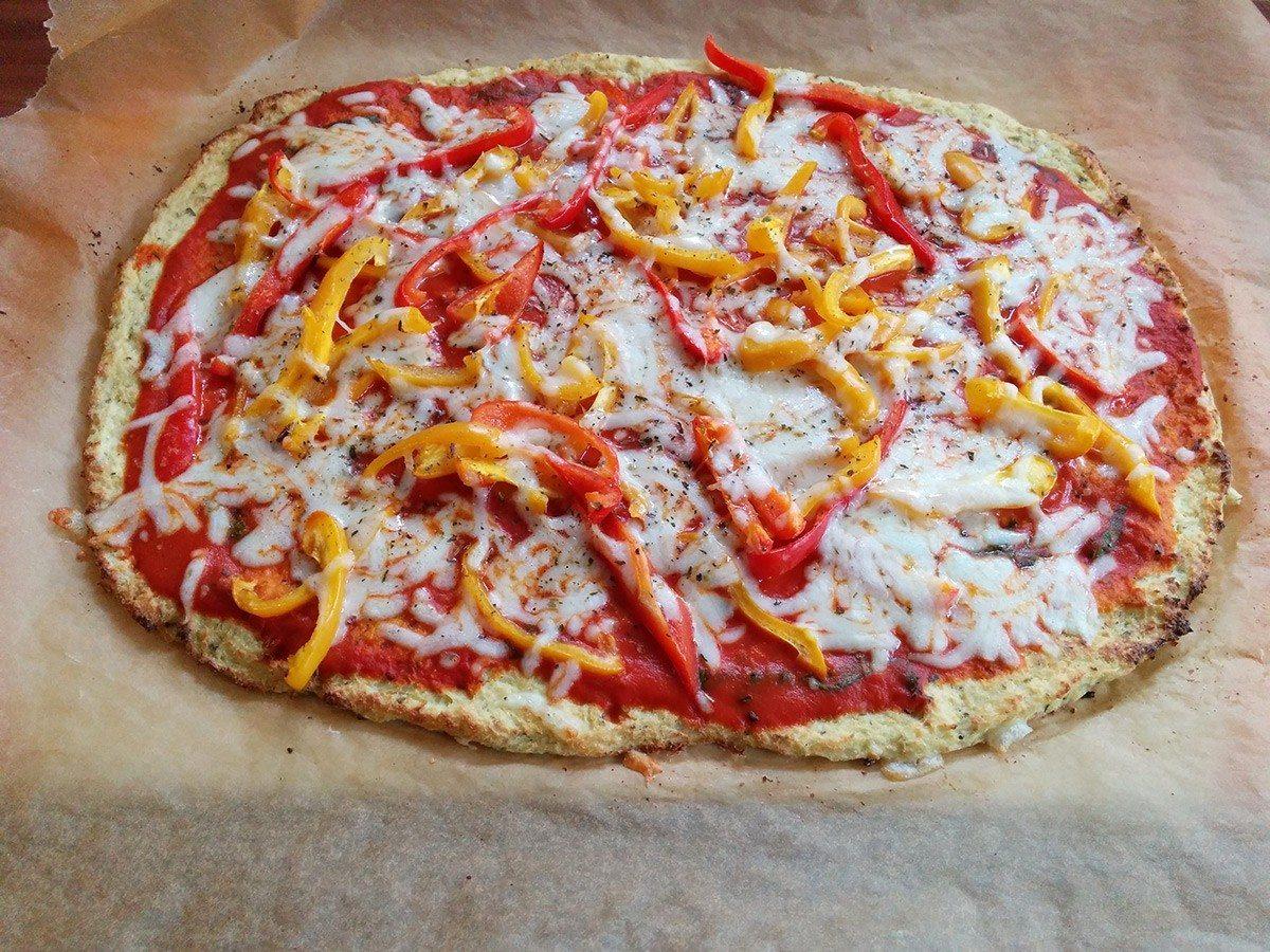 Super Rezept für Low-Carb-Pizza, aber total unmotiviert