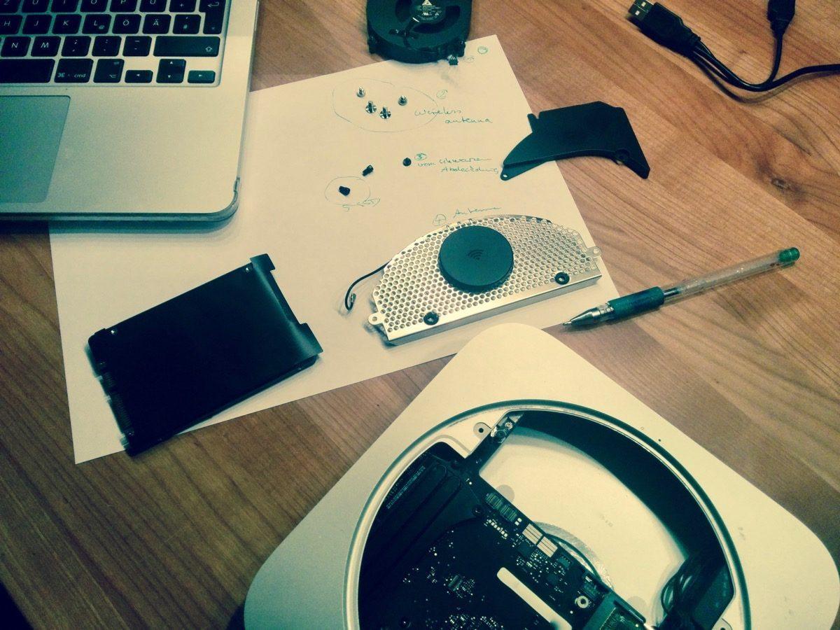 Tag 362/2016: Mac Mini mit SSD versehen