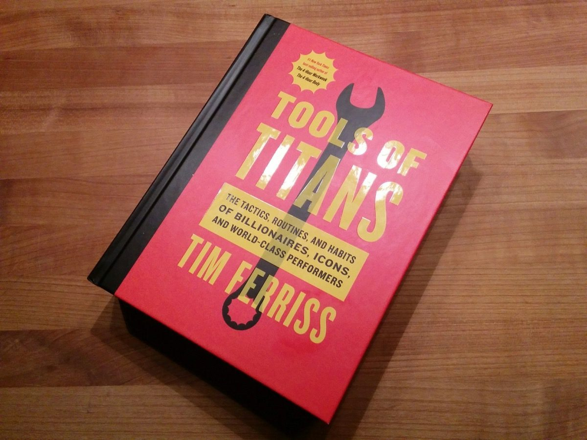 Tag 350/2016: Tools of Titans